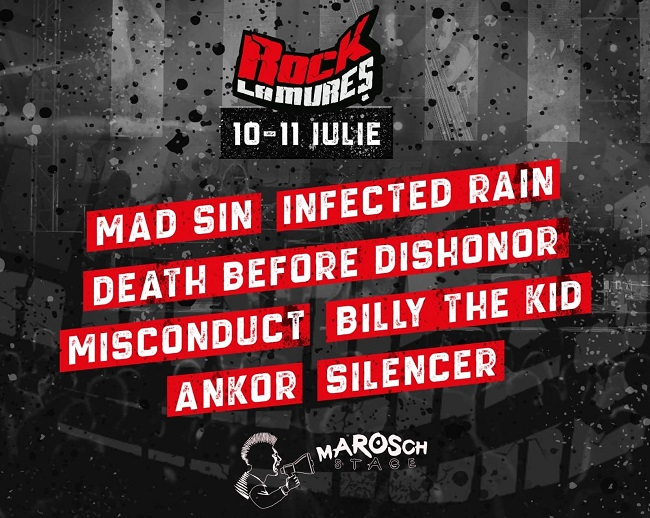 Primul val de artiști internaționali anunțați pentru festivalul Rock la Mureș 2020