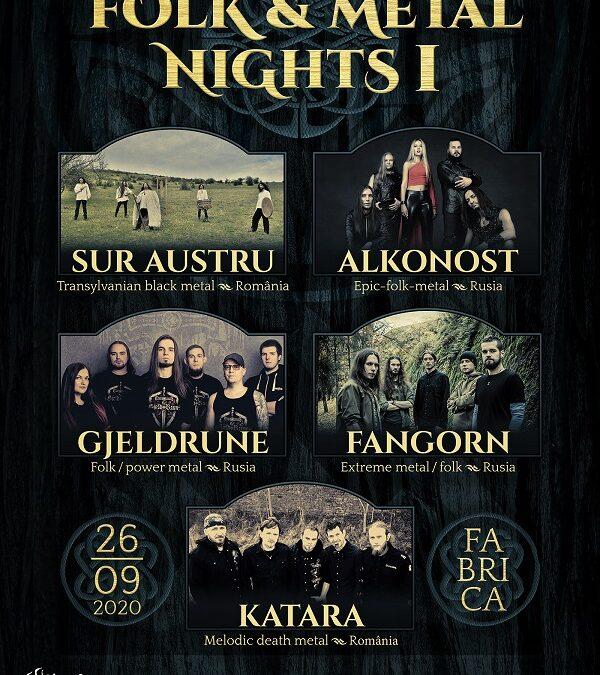 Folk & Metal Fest I, în toamnă, în Fabrica