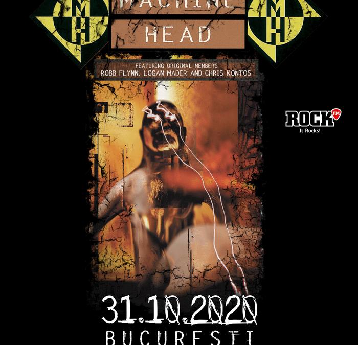 Machine Head: amănunte despre concertul din România