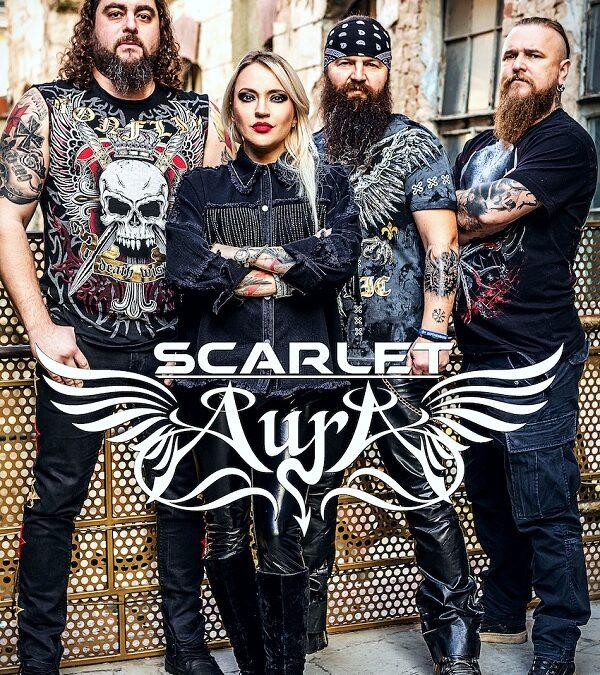 """Scarlet Aura prezintă premiera videoclipului """"Battle Cry"""""""