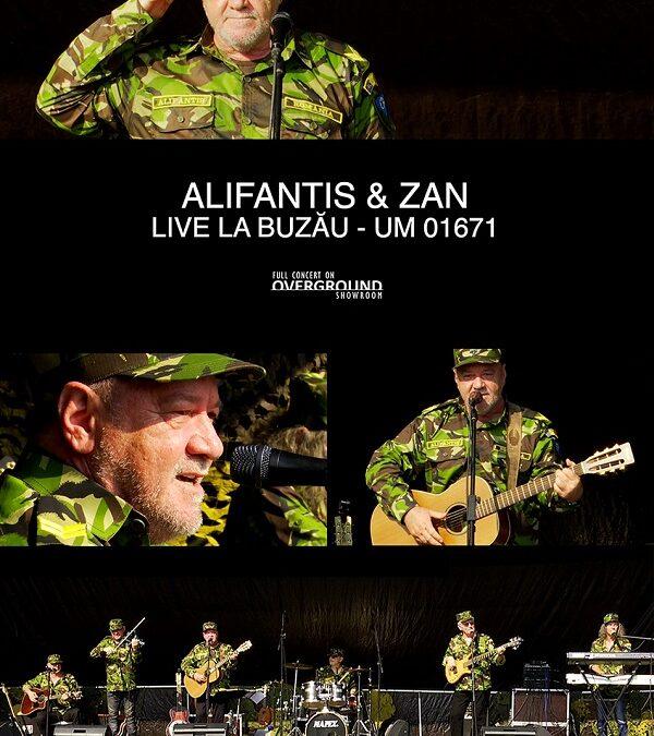 Premieră pe Overground Showroom: Nicu Alifantis & ZAN
