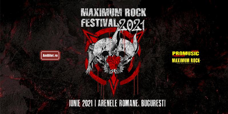 Maximum Rock Festival se amână pentru 2021