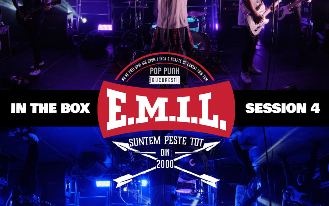 Un nou concert pe platforma Overground Showroom: E.M.I.L. live – In The Box Session 4